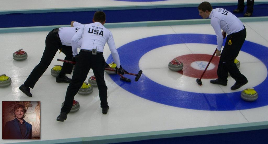 Stanotte al curling